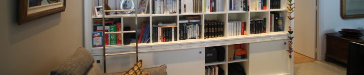 aménagement d'une bibliothèque