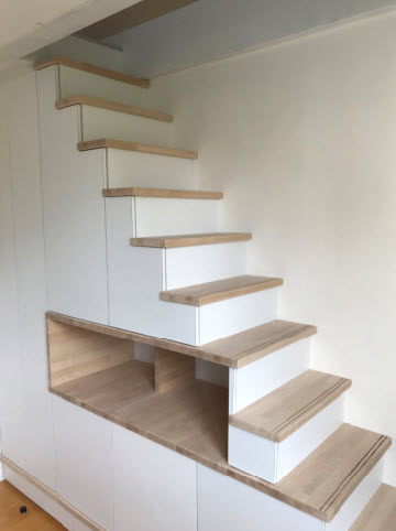 escalier placard sur mesure